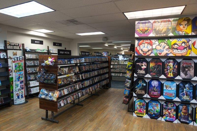 Of Course What Would A Video Game Store Be Without Games Check Out The Pictures Below For Just Small Percentage We Offer