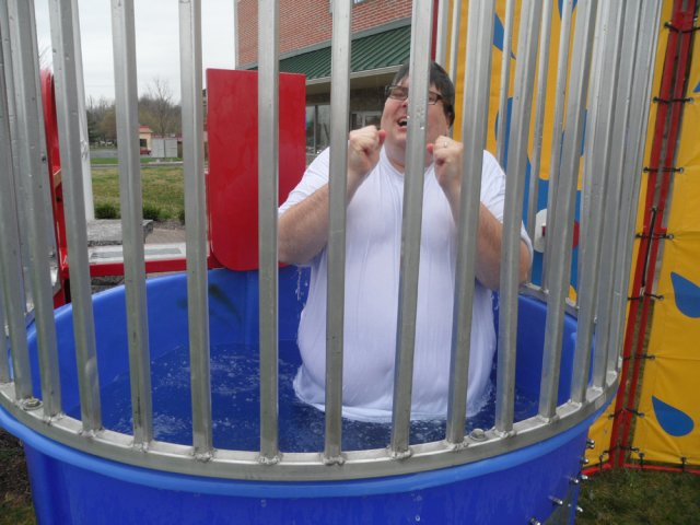 Customer Appreciation Day Dunk Tank