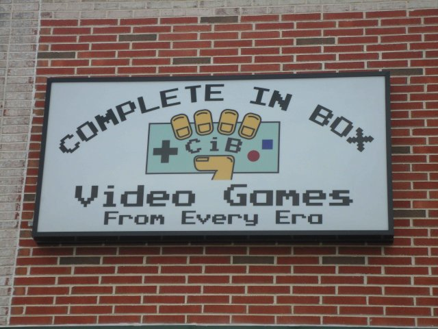 Complete in Box Sign